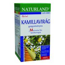 NATURLAND Kamillavirág tea 25 filter