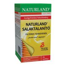 NATURLAND Salaktalanító teakeverék 25 filter