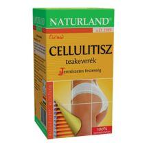 NATURLAND Cellulitisz teakeverék 20 filter