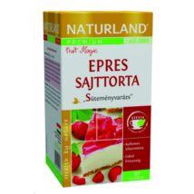 NATURLAND Prémium Epres Sajttorta ízű tea 20 filter