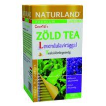 NATURLAND Prémium Zöld tea levendulavirággal 20 filter