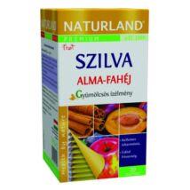 NATURLAND Prémium gyümölcstea Szilvás-almás-fahéjas 20 filter