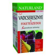 NATURLAND Gyümölcstea Vadcseresznye-feketeszeder 20 filter