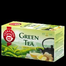 TEEKANNE Zöld tea gyömbér-citrom 20 filter