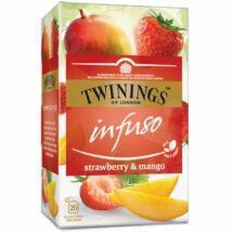 TWININGS Mangó és Eper Herbatea 20 filter