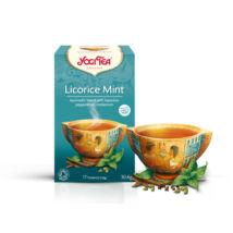 YOGI BIO Édesgyökér-menta tea egyiptomi fűszerezéssel 17 filter