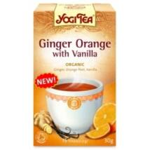 YOGI BIO Narancsos gyömbér tea vaníliával 17 filter