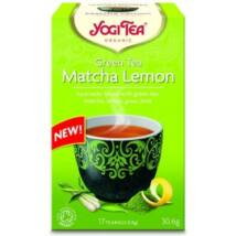 YOGI BIO Zöld tea Matcha-citrom 17 filter