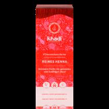 KHADI Növényi hajfesték por élénkvörös 100% henna 100 g