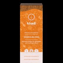 KHADI Növényi hajfesték por sötétszőke 100 g