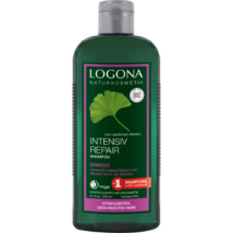 LOGONA Bio Ginkgo hajregeneráló sampon - száraz, töredezett hajra 250 ml