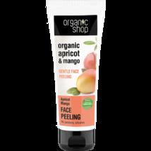 Organic Shop Bio Barackos mangó gyengéd bőrmegújító arcradír 75 ml