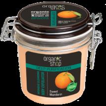 Organic Shop Édes mandarin intenzív mélytisztító bőrradír 350 ml
