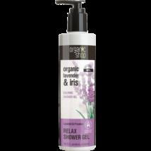 Organic Shop Provance levendulái nyugtató tusfürdő bio levendula és nőszirom kivonattal 280 ml