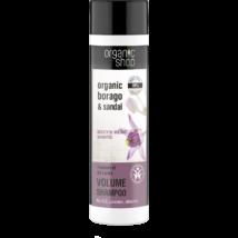 Organic Shop Sri Lanka kincse dúsító sampon bio borágó és szantálfa kivonattal 280 ml