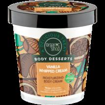 """Organic Shop """"Vanília hab"""" hidratáló testápoló 450 ml"""
