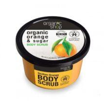 Organic Shop Szicíliai narancs bőrradír naranccsal és cukorral 250 ml