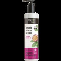 Organic Shop Éjjeli csábítás kényeztető tusfürdő bio maracuja és kakaó kivonattal 280 ml