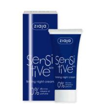 ZIAJA Sensitive bőrfeszesítő éjszakai arckrém 50 ml