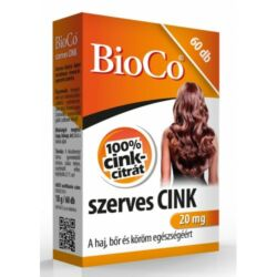 Bioco Szerves cink tabletta