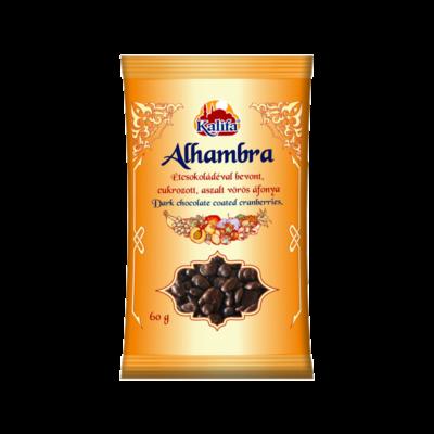 KALIFA Alhambar étcsokoládés vörösáfonya 60 g