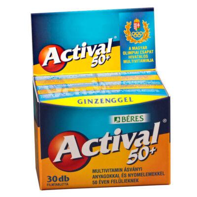 BÉRES ACTIVAL 50+ filmtabletta 30 db