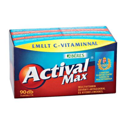BÉRES ACTIVAL MAX multivitamin 90 db