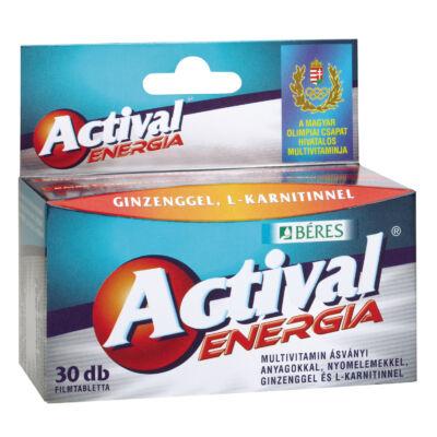 BÉRES ACTIVAL Energia tabletta 30 db