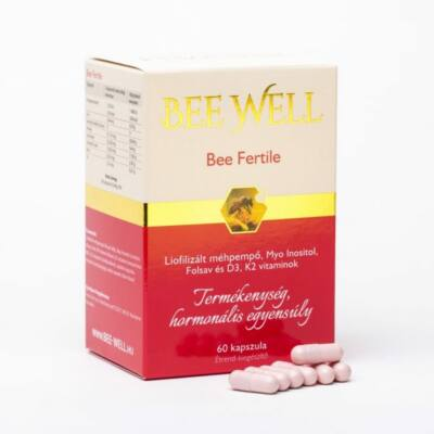 BEE WELL Bee Fertile kapszula a Termékenység Fokozásáért 60 db
