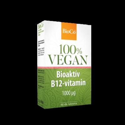 BIOCO Vegan Bioaktív B12-vitamin tabletta 90 db