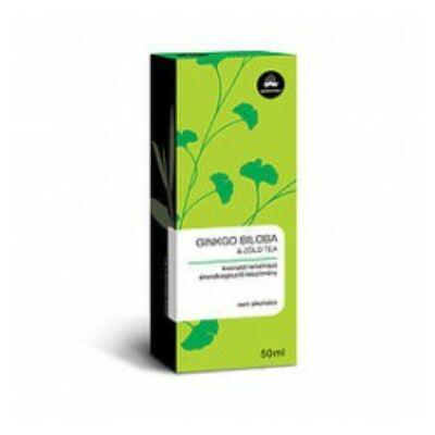 BIOEXTRA Ginkgo biloba és zöld tea cseppek 50 ml