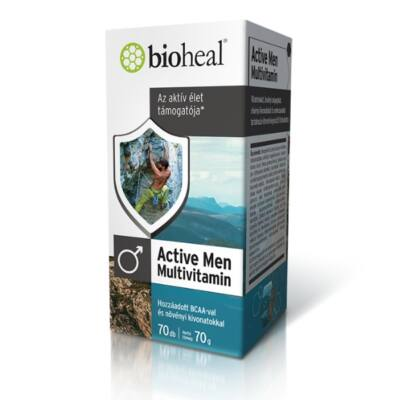 BIOHEAL Active Men Multivitamin kapszula 70 db