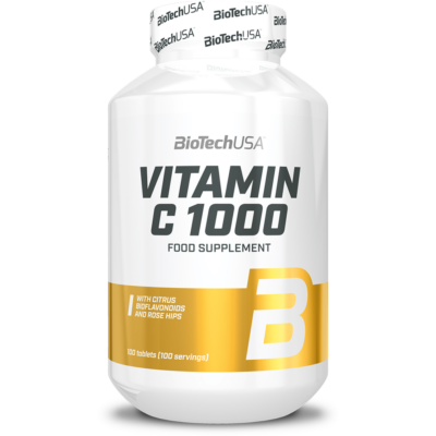 BIOTECH Vitamin C-1000 bioflavonoidos tabletta 100 db