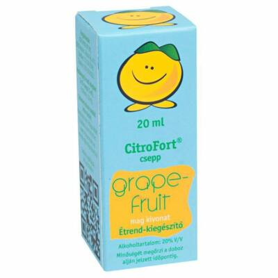 CITROFORT Grapefruitmag csepp Kék 20 ml