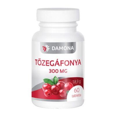 DAMONA Tőzegáfonya 300 mg tabletta 60 db