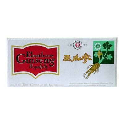 Dr. CHEN Eleuthero Ginseng Royal Jelly ampulla 10x10 ml