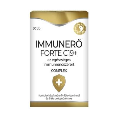 Dr. CHEN Immunerő Forte C19+ tabletta 30 db