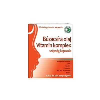 Dr. CHEN Búzacsíra olaj vitamin komplex kapszula 60 db