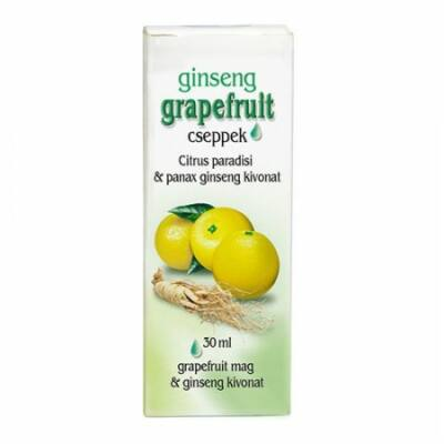 Dr. CHEN Grapefruit cseppek ginsenggel 30 ml