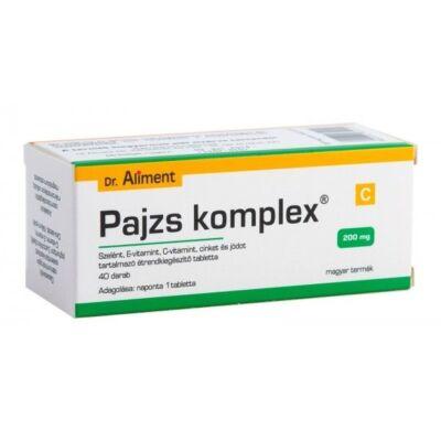 Dr. Aliment Pajzs komplex tabletta pajzsmirigyre 40 db
