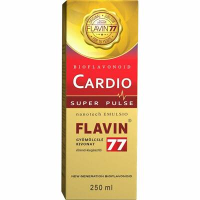 FLAVIN 77 Cardio szirup 250 ml