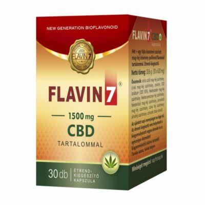 FLAVIN 7 CBD Kapszula 30 db