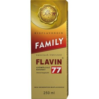 FLAVIN 77 Family szirup 250 ml
