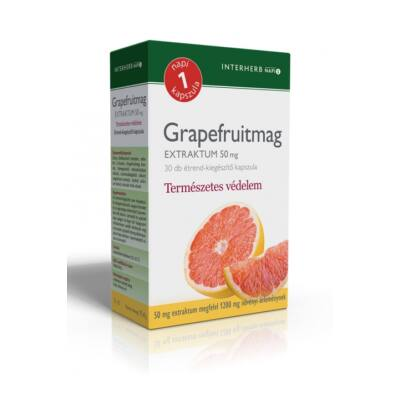 INTERHERB Grapefruit extraktum kapszula 30 db