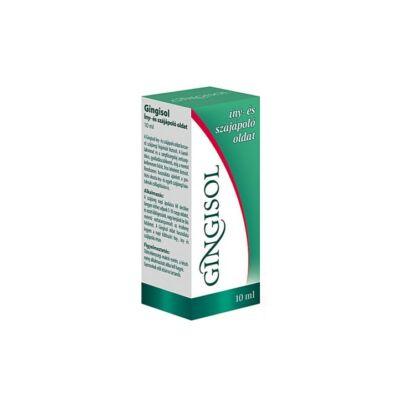 INTERHERB Gingisol fogíny- és szájápoló oldat 10 ml