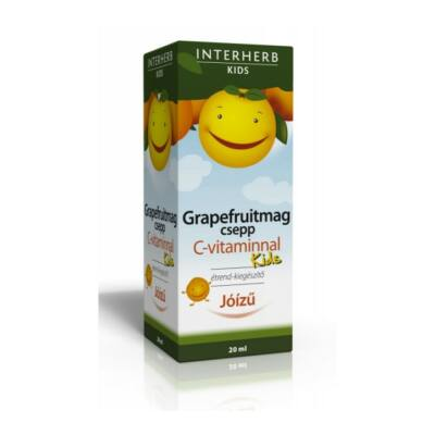 INTERHERB Grapefruitmag csepp Kids C-vitaminnal 20 ml
