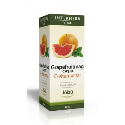 INTERHERB Grapefruitmag csepp C-vitaminnal 20 ml