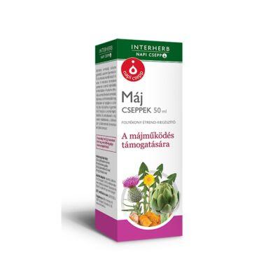 INTERHERB Máj cseppek 50 ml