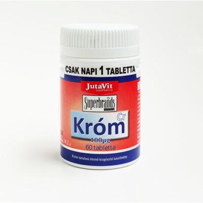 JUTAVIT Króm tabletta 60 db