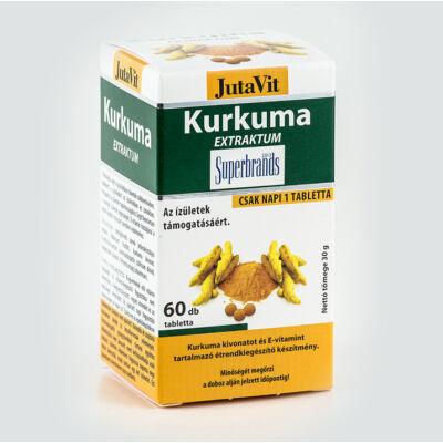 JUTAVIT Kurkuma tabletta 60 db